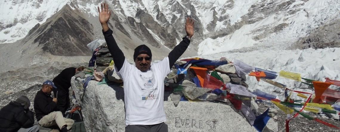 Mount Everest Mission Accomplished!